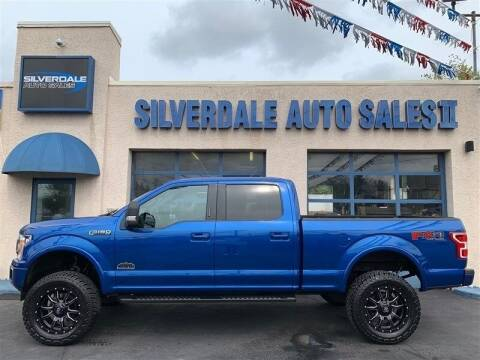 2018 Ford F-150 for sale at Silverdale Auto Sales II in Sellersville PA