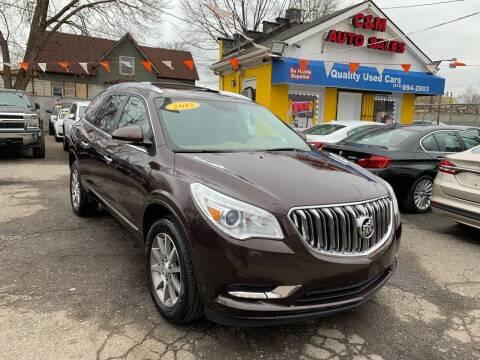 2015 Buick Enclave for sale at C & M Auto Sales in Detroit MI