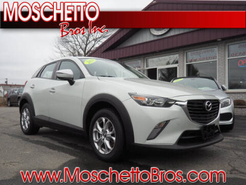 2016 Mazda CX-3 for sale at Moschetto Bros. Inc in Methuen MA