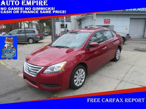 2015 Nissan Sentra for sale at Auto Empire in Brooklyn NY