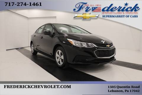 2018 Chevrolet Cruze for sale at Lancaster Pre-Owned in Lancaster PA
