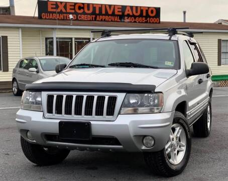 2004 Jeep Grand Cherokee for sale at Executive Auto in Winchester VA