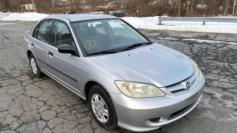 2005 Honda Civic for sale at Mobility Solutions in Newburgh NY