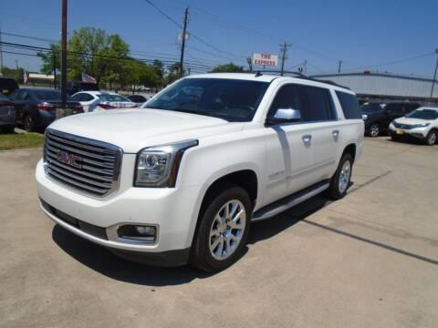 2015 GMC Yukon XL for sale at BAS MOTORS in Houston TX
