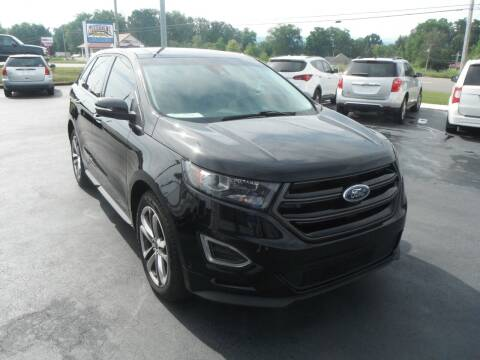 2017 Ford Edge for sale at Morelock Motors INC in Maryville TN