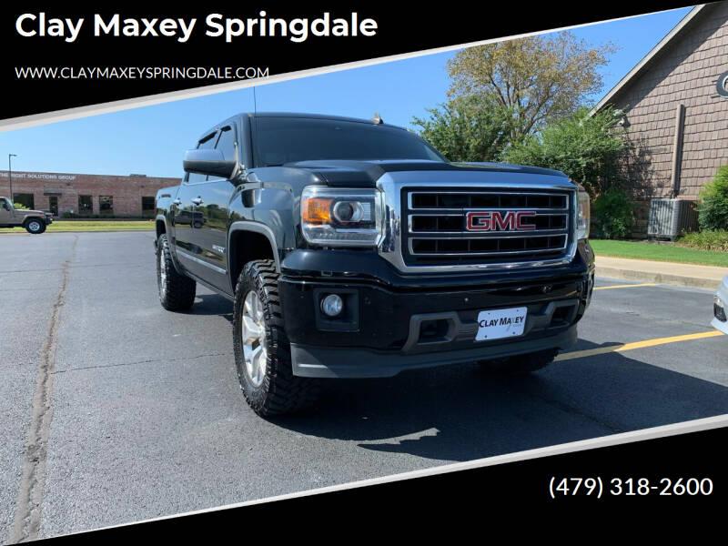 2015 GMC Sierra 1500 for sale at Clay Maxey Springdale in Springdale AR