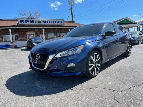 2019 Nissan Altima for sale at RPM Motors in Nashville TN
