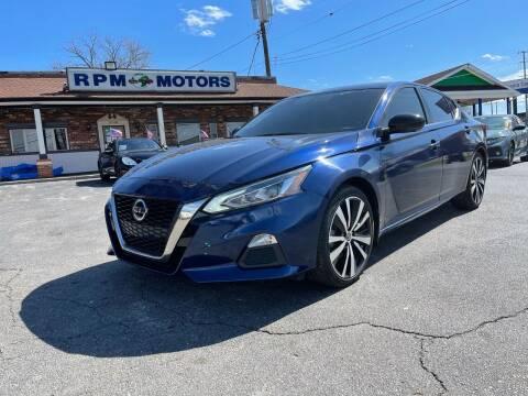 2019 Nissan Altima for sale at RPM Motors in Nashville TN