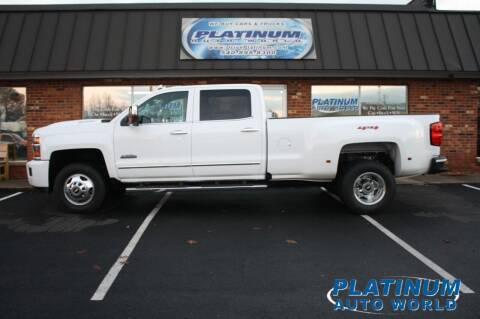 2019 Chevrolet Silverado 3500HD for sale at Platinum Auto World in Fredericksburg VA
