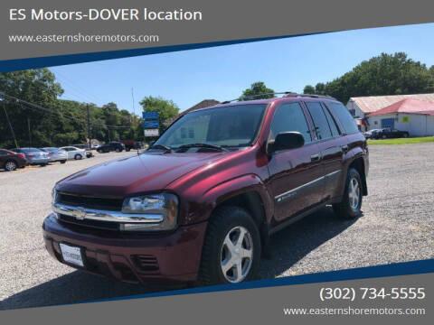 2004 Chevrolet TrailBlazer for sale at ES Motors-DAGSBORO location - Dover in Dover DE