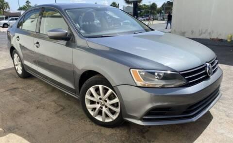 2015 Volkswagen Jetta for sale at Prado Auto Sales in Miami FL