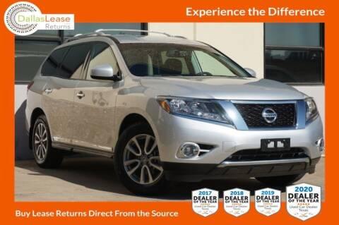 2016 Nissan Pathfinder for sale at Dallas Auto Finance in Dallas TX