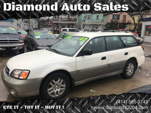 2002 Subaru Outback for sale at Diamond Auto Sales in Milwaukee WI
