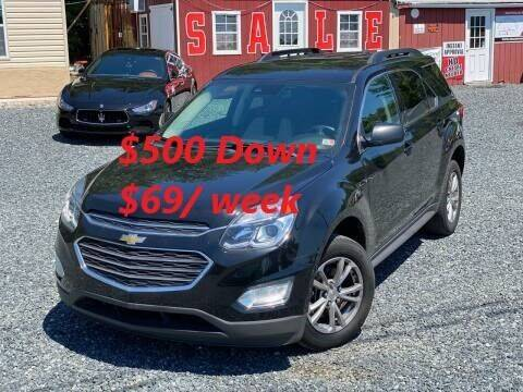 2017 Chevrolet Equinox for sale at A&M Auto Sales in Edgewood MD
