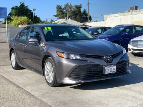 2018 Toyota Camry for sale at H & K Auto Sales & Leasing in San Jose CA