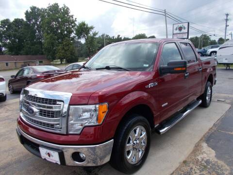 2014 Ford F-150 for sale at High Country Motors in Mountain Home AR