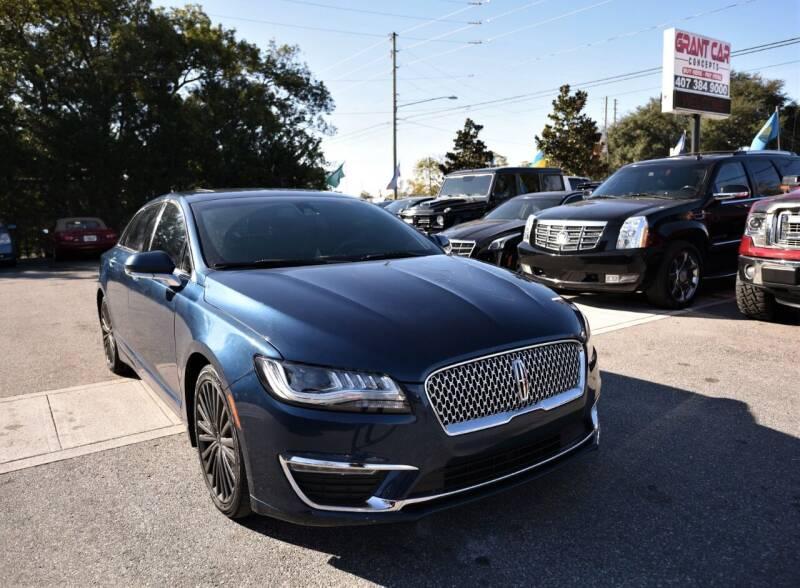2017 Lincoln MKZ for sale at Grant Car Concepts in Orlando FL