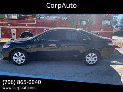 2011 Toyota Camry for sale at CorpAuto in Cleveland GA