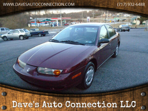2002 Saturn S-Series for sale at Dave's Auto Connection LLC in Etters PA