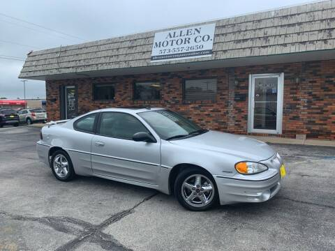 2004 Pontiac Grand Am for sale at Allen Motor Company in Eldon MO