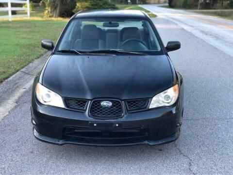 2007 Subaru Impreza for sale at Two Brothers Auto Sales in Loganville GA