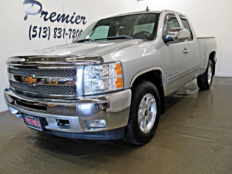 2013 Chevrolet Silverado 1500 for sale at Premier Automotive Group in Milford OH