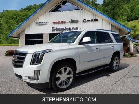 2018 Cadillac Escalade for sale at Stephens Auto Center of Beckley in Beckley WV