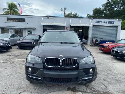 2009 BMW X5 for sale at America Auto Wholesale Inc in Miami FL