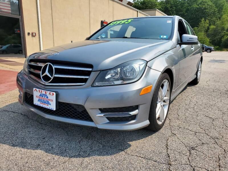 2014 Mercedes-Benz C-Class for sale at Auto Wholesalers Of Hooksett in Hooksett NH