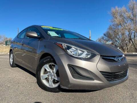 2014 Hyundai Elantra for sale at UNITED Automotive in Denver CO