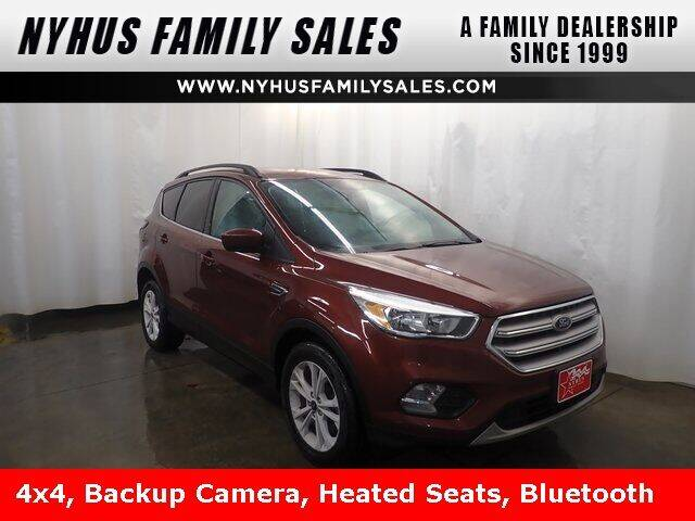 2018 Ford Escape for sale at Nyhus Family Sales in Perham MN