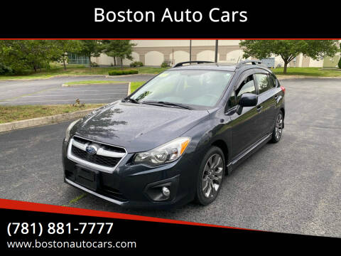 2014 Subaru Impreza for sale at Boston Auto Cars in Dedham MA