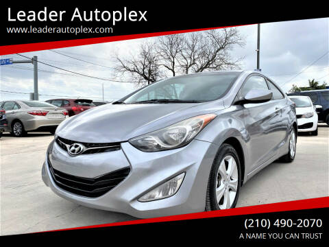 2013 Hyundai Elantra Coupe for sale at Leader Autoplex in San Antonio TX