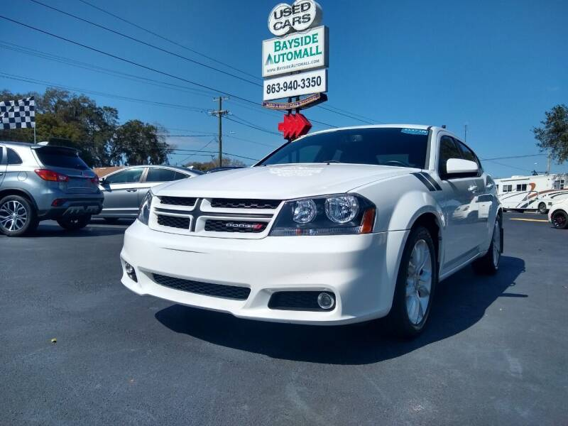 2012 Dodge Avenger for sale at BAYSIDE AUTOMALL in Lakeland FL
