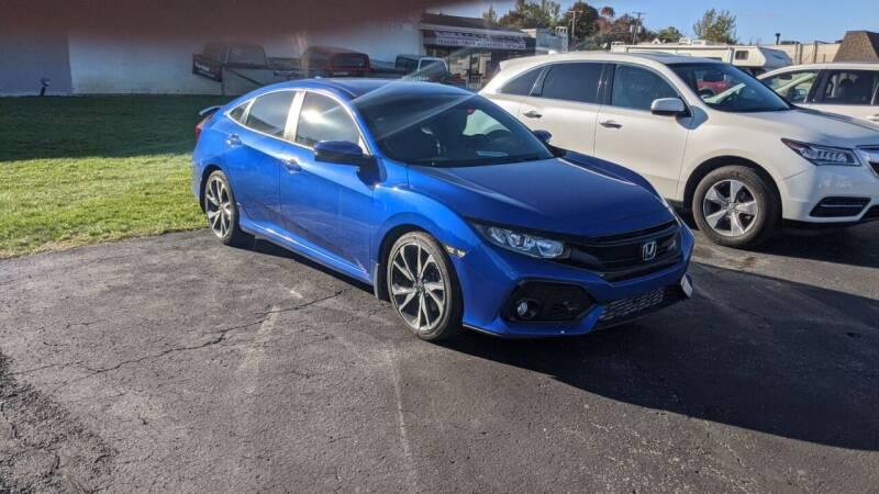 2017 Honda Civic for sale at Newport Auto Group Boardman in Boardman OH