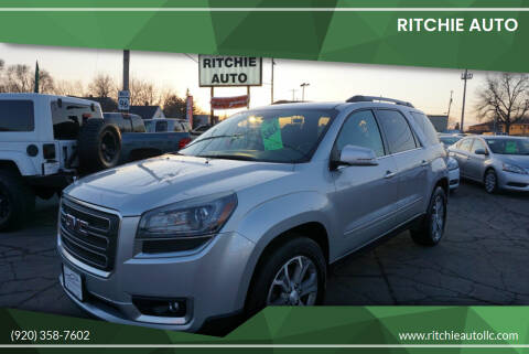 2014 GMC Acadia for sale at Ritchie Auto in Appleton WI