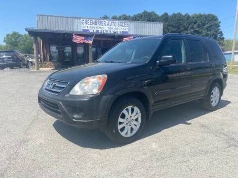 2006 Honda CR-V for sale at Greenbrier Auto Sales in Greenbrier AR