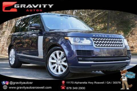 2017 Land Rover Range Rover for sale at Gravity Autos Roswell in Roswell GA