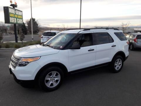 2014 Ford Explorer for sale at More-Skinny Used Cars in Pueblo CO