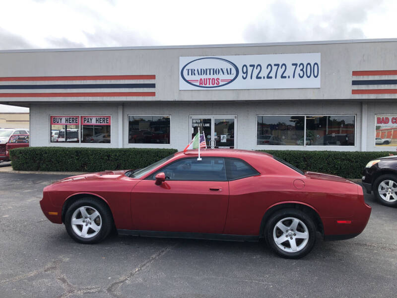 2010 Dodge Challenger for sale at Traditional Autos in Dallas TX