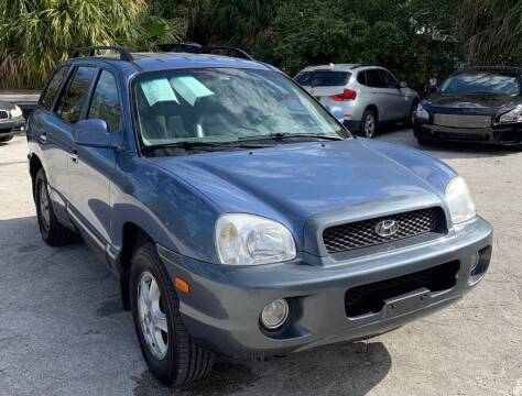 2001 Hyundai Santa Fe for sale at Cobalt Cars in Atlanta GA