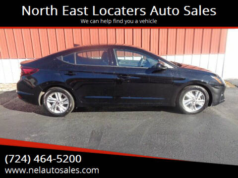 2020 Hyundai Elantra for sale at North East Locaters Auto Sales in Indiana PA