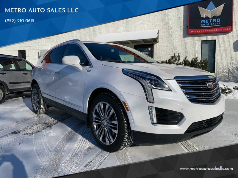 2017 Cadillac XT5 for sale at METRO AUTO SALES LLC in Blaine MN