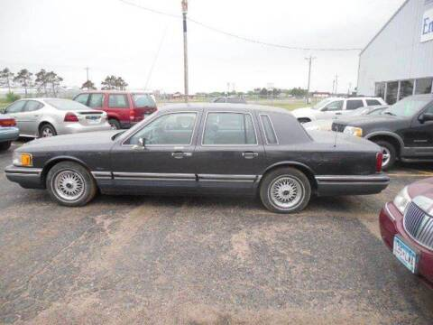 1994 Lincoln Town Car for sale at Engels Autos Inc in Ramsey MN