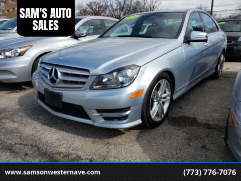 2013 Mercedes-Benz C-Class for sale at SAM'S AUTO SALES in Chicago IL