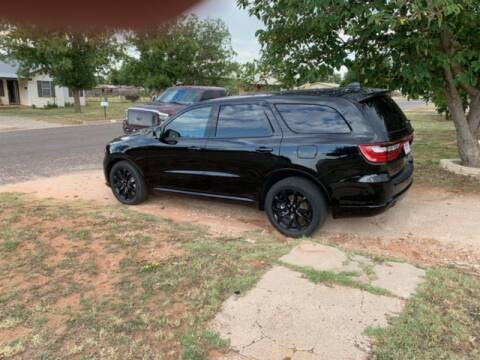 2019 Dodge Durango for sale at STANLEY FORD ANDREWS in Andrews TX