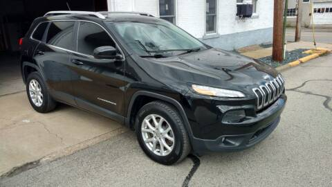 2015 Jeep Cherokee for sale at Graft Sales and Service Inc in Scottdale PA