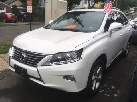 2013 Lexus RX 350 for sale at MELILLO MOTORS INC in North Haven CT