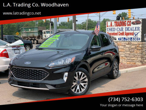 2020 Ford Escape for sale at L.A. Trading Co. Woodhaven in Woodhaven MI