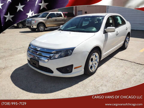 2011 Ford Fusion for sale at Cargo Vans of Chicago LLC in Mokena IL